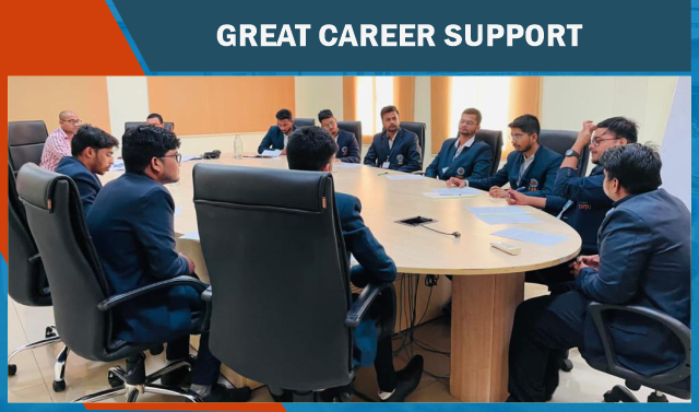 GREAT CAREER SUPPORT